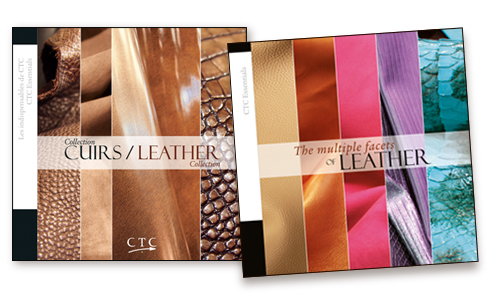 COLLECTION CUIRS-LEATHER COLLECTION + THE MULTIPLE FACETS OF LEATHER