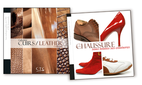 COLLECTION CUIRS-LEATHER COLLECTION + LA CHAUSSURE SOUS TOUTES SES COUTURES